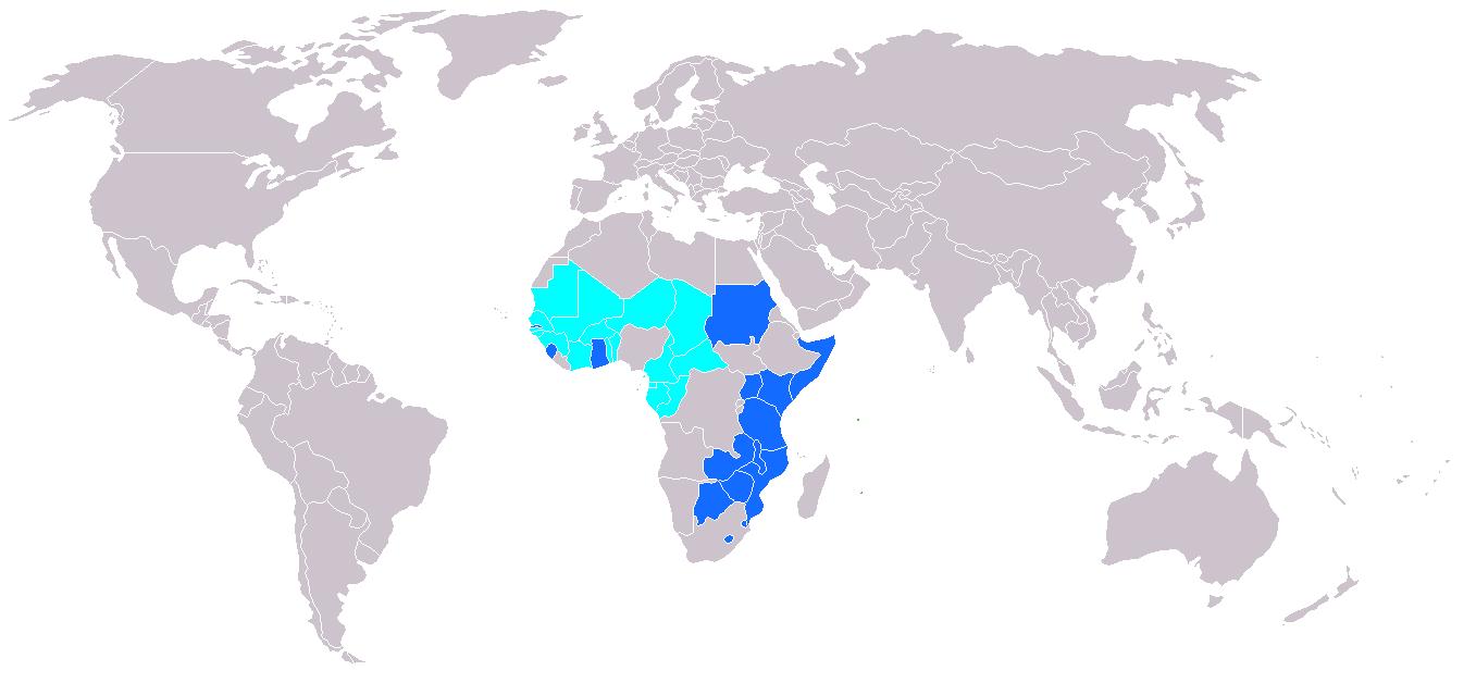 OAPI-ARIPO-etats-membres